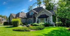 Absolutely magnificent Citadel stone, carpet-free executive style family home. Nestled amongst tall trees on Waterloo's prettiest and most desirable cup-de-sac. Executive Style, Executive Fashion, Home And Family, Carpet, Trees, Real Estate, Mansions, Stone, House Styles