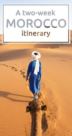 A two-week Morocco itinerary