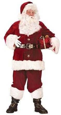 Adulte Faux Big Belly Santa Clause Noël Nativité Festif Costume Accessoire