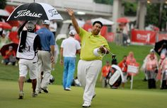 Kiradech Aphibarnrat, 24, soared clear in the Asian Tour Order of Merit after finishing third in the PGA Tour co-sanctioned US$7 million CIMB Classic, just one shot behind Americans Ryan Moore and Gary Woodland, who will contest a playoff on Monday morning. Photo: Asian Tour.