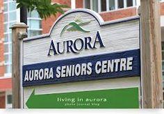 Aurora Senior's Centre Ontario, Aurora, Centre, Northern Lights