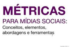 metricas -midias sociais