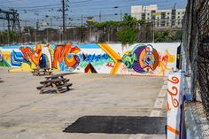 A lot featuring all the murals from the Storey Park Junction Paint Jam on June 6th, 2015 in the NoMa neighborhood in Washington, DC. || #AlexTonettiPhotography #Photography