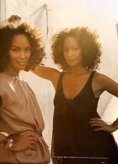 Tracee Ellis Ross & Mara Brock Akil The Beauty Of Natural Hair Board My Black Is Beautiful, Gorgeous Hair, Beautiful People, Pretty Black, Simply Beautiful, Beautiful Women, Black Girls Rock, Black Girl Magic, Curly Hair Styles