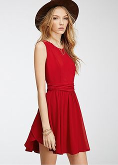 Awesome Red Summer Dress In Party Dresses | fashionoah.com
