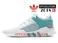 buy online cfdd1 dbc20 Adidas Originals Homme Chaussures EQT Support ADV Primeknit 9317 Prix Pas  Cher Blanc Bleu