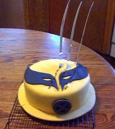 Wolverine X-Men Cake