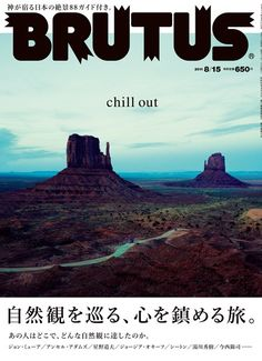 BRUTUS magazine 2011 Aug. chill out