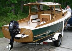 Wooden Boat Kits To Build For Kids-Boat Building Plans Free Wooden Boat Kits, Wooden Boat Building, Boat Building Plans, Yacht Design, Boat Design, Classic Wooden Boats, Cabin Cruiser, Cruiser Boat, Build Your Own Boat