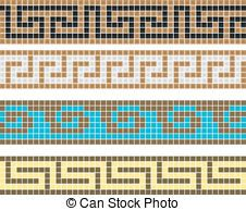 griekse , ornament Crochet Pants, C2c Crochet, Crochet Chart, Crochet Stitches, Alpha Patterns, Loom Patterns, Mosaic Patterns, Stitch Patterns, Knitting Charts