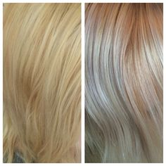 Wella Koleston 12/89 & 12/96 Before / After
