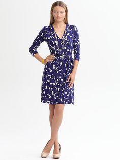 Banana Republic | Gemma floral wrap dress