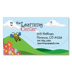 childrens business card - Babysitting Business Cards