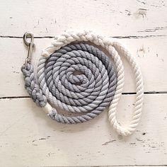 Grey Ombre Dog Leash