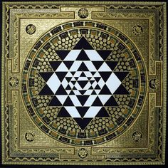 "Visual Activator.  Sri Yantra Mandala (featured in Disney movie ""The Last…"