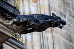 Werewolf Gargoyle~Prague