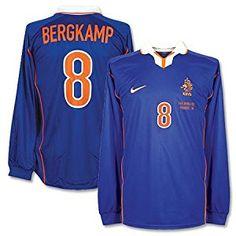9058c8ec7d3 football shirts nike 98 99 holland away l s shirt bergkamp 8