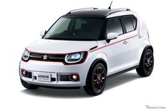 "SUZUKI ""IGNIS TRAIL CONCEPT"": SUZUKI ""IGNIS"" will debut at Tokyo Motor Show 2015: Photo via Response.jp (http://response.jp/article/2015/09/30/261075.html)"