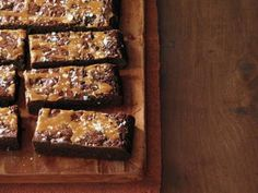 Salted Caramel Brownies - this is a smaller version of the Outrageous Brownie recipe. I just omit the caramel & salt.