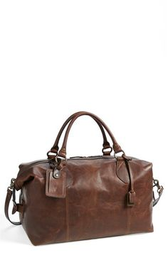 gorgeous overnight bag from Frye!
