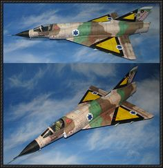 Dassault Mirage IIIC Fighter Free Aircraft Paper Model Download - http://www.papercraftsquare.com/dassault-mirage-iiic-fighter-free-aircraft-paper-model-download.html
