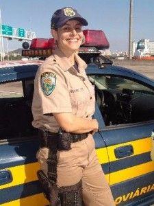 Policia Rodoviária Federal Feminina, Brasil