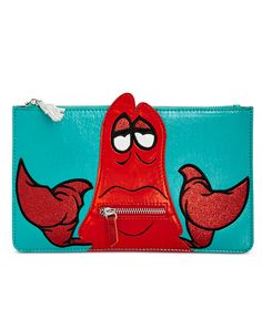 Danielle Nicole Little Mermaid Sebastian Pouch - Danielle Nicole - Handbags & Accessories - Macy's