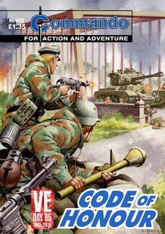 Commando Comics - Code of Honour