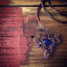 A personal favorite from my Etsy shop https://www.etsy.com/listing/286501343/longhorn-antique-copper-wire-wrapped