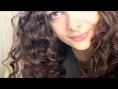Merida Curls | No Heat, No Tools, No Products! - YouTube