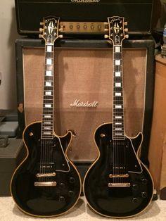 Gibson Les Paul Custom Black Beauties - 1956 and 1957