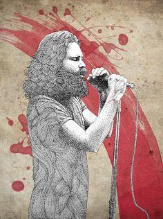 Pointillist Illustrations by Pablo Jurado Ruiz