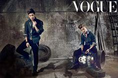 Vogue Korea - October 2012 (DBSK)