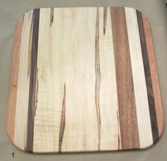 Medium Multi-wood Cutting Boards by SpecialtyWoodDesigns on Etsy 17 x 18 $75