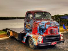 Great patina on this COE truck