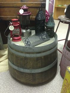 wine barrel tables for sale   Catalog > Dining & Benches > Wine ...