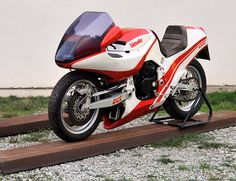 Bimota Honda Tesi prototipo, 1980 | Credits STUDIO 129 by Turismo Emilia Romagna, via Flickr