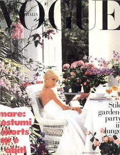 Vogue Italia (1991) Ph Meisel Model: Linda Evangelista