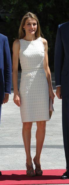*STYLE , Queen Letizia Spain, Blanco
