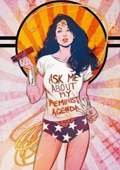 Ask Wonder Woman About Her Feminist Agenda - Lukas Werneck For the text alone Wonder Woman Kunst, Wonder Woman Art, Wonder Women, Wonder Woman Comic, Wonder Woman Quotes, Catwoman, Wallpaper Animé, Marvel Dc, Marvel Comics