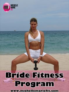 What a great #fitness program for #brides to get in shape for their #wedding.  The #workouts are totally do-able and the #diet tips are great.