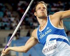 Great finnish Javelin throw man, Tero Pitkämäki