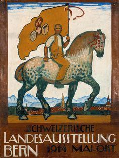 Emil Cardinaux (1877-1936): Exposition nationale de 1914.