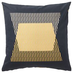 IKEA - KLIPPÖRT, Cushion cover, You can easily vary the look, because the two sides have different designs.The zipper makes the cover easy to remove.