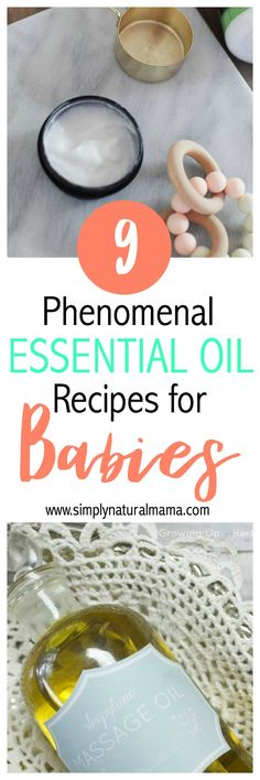 I just had a new baby, and I am so excited to try all of these recipes.  I love essential oils, and I am so glad that get to use them on my newborn! via @simplynaturalma