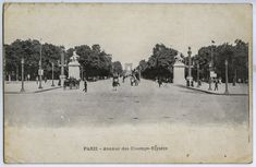 Paris Champs Elysees, Painting, Art, Art Background, Painting Art, Kunst, Paintings, Performing Arts, Painted Canvas