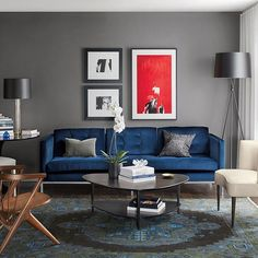 Velvet is stylish & versatile. Check out our Pinterest board for how to incorporate it into your home, link in bio. #roomandboard #modernhome #homestyle #velvet