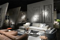 the cassina stand at imm cologne cites modern architecture of le corbusier