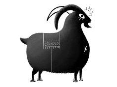 Goat by murat kalkavan #Design Popular #Dribbble #shots