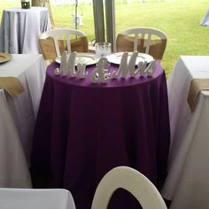 The sweetheart table at one of our outdoor tented weddings.